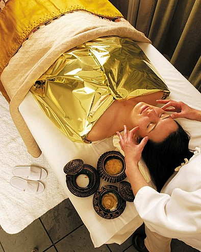 Rubies and Perle de Caviar ... treatments that indulge your senses
