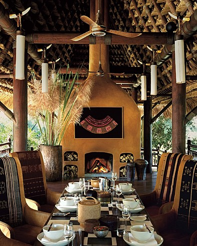 Four Seasons Tented Camp Golden Triangle, Thailand > Nong Yao Restaurant