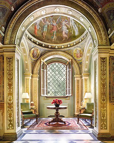 Newly restored, original artworks surround you