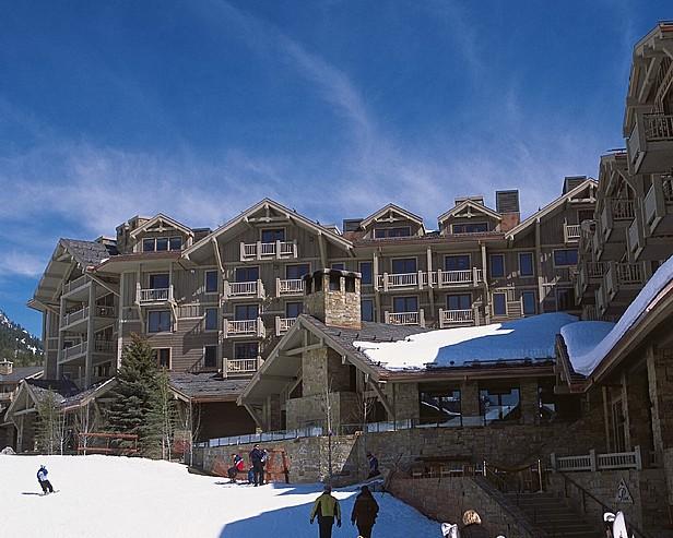 Four Seasons Resort Jackson Hole > Exterior of hotel.