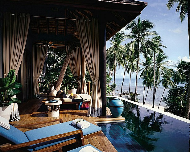 Four Seasons Resort Koh Samui, Thailand > Villa pool deck with daybed