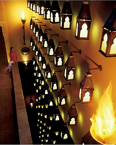 Four Seasons Resort Langkawi, Malaysia > Wall of lanterns