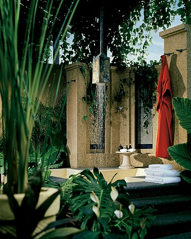 Four Seasons Resort Langkawi, Malaysia > Outdoor shower