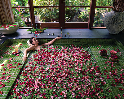 Four Seasons Resort Langkawi, Malaysia > Floral Bath > Four Seasons Resort Langkawi redefines the spa experience – providing total escapism that paradoxically encourages healing to arise from deep within the self.