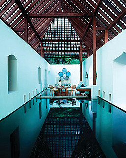 Four Seasons Resort Langkawi, Malaysia > Spa - Floating Pond > Four Seasons Resort Langkawi redefines the spa experience – providing total escapism that paradoxically encourages healing to arise from deep within the self.
