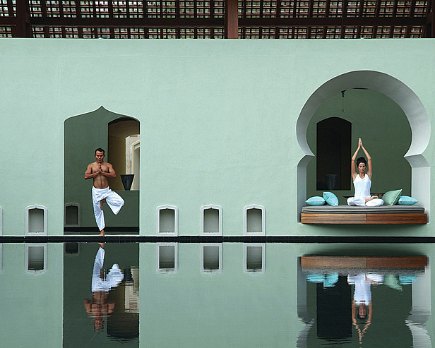 Four Seasons Resort Langkawi, Malaysia > Spa - reflecting Pool