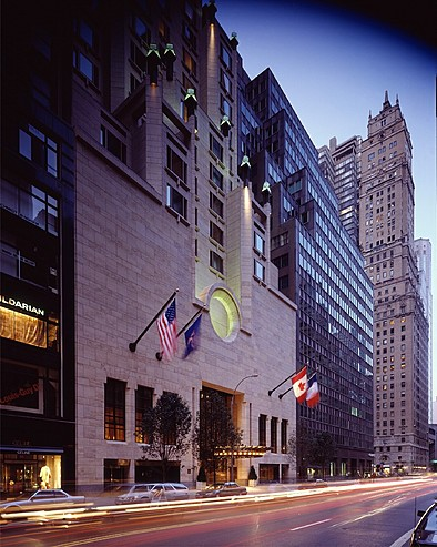 Four Seasons Hotel New York > 57th street entrance
