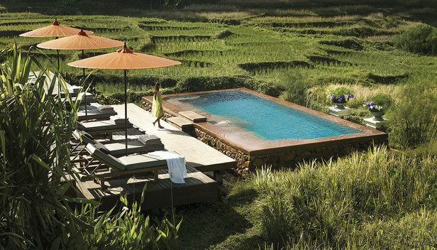Four Seasons Resort Chiang Mai > Lower infinity pool for adults > Welcome to Four Seasons Resort Chiang Mai.